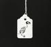 Image of Parrot Skeleton Papercut Tag
