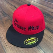 Image of Cruiser Shop - OG Black Logo Flat Bill Hats