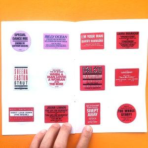 Image of Stickers Zine: Volume 1 & 2