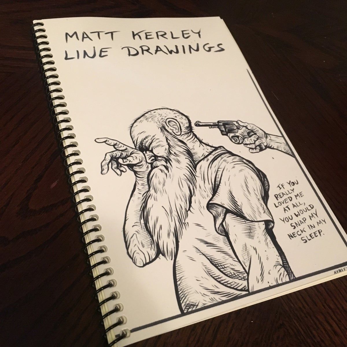 Line Drawing Book : Death mask — line drawing book