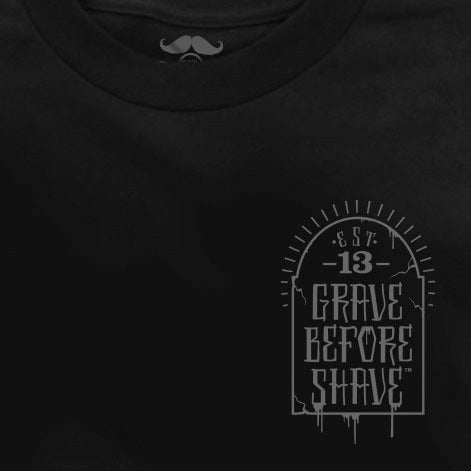 Image of GRAVE BEFORE SHAVE SKATEBEARDING TEE