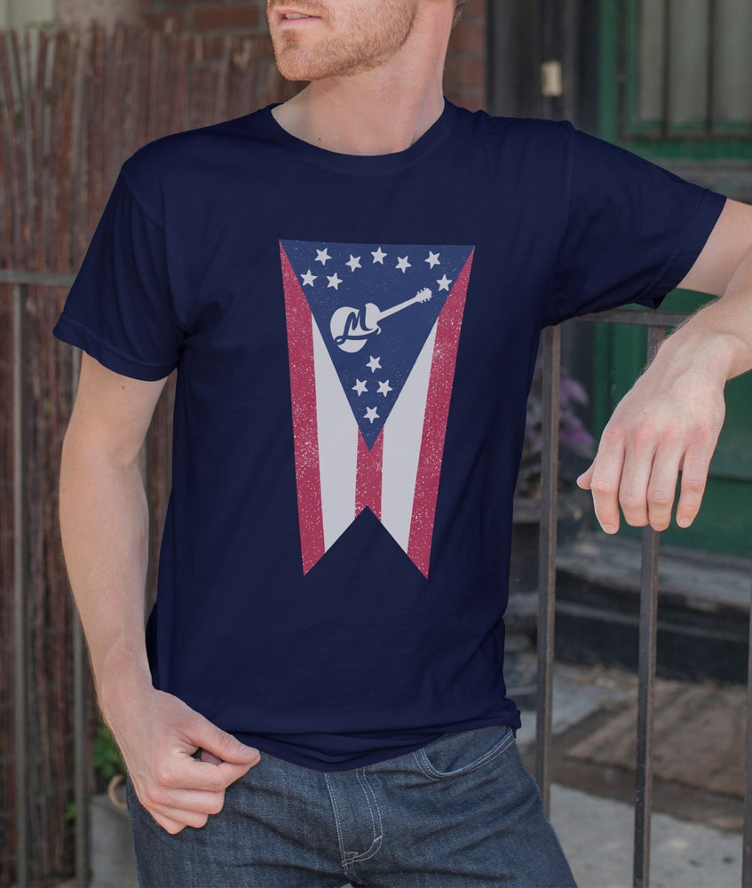 Image of Men's Ohio Flag Shirt
