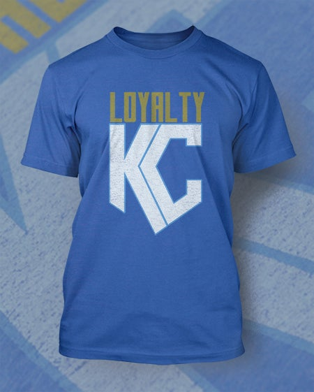 Image of Loyalty KC Shield Shirt