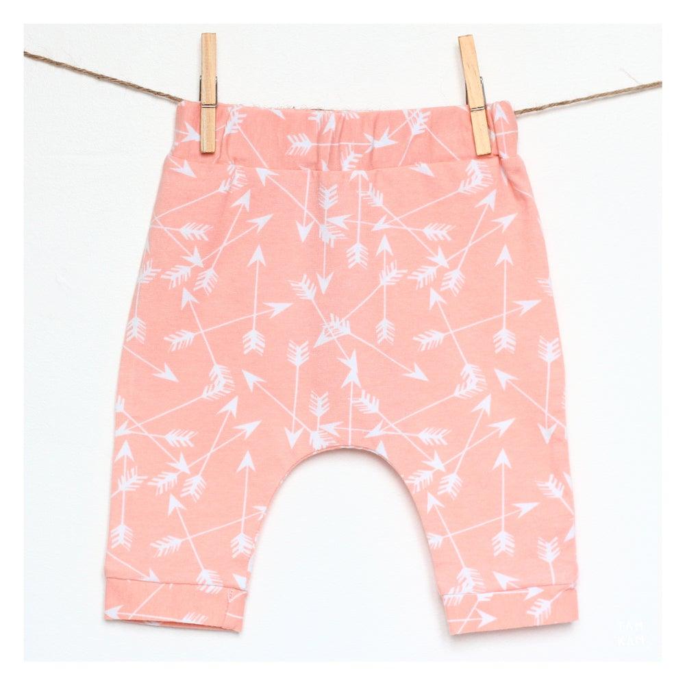 Image of Leggings OEKO-TEX® Peach Pow Wow - DERNIERES PIECES!