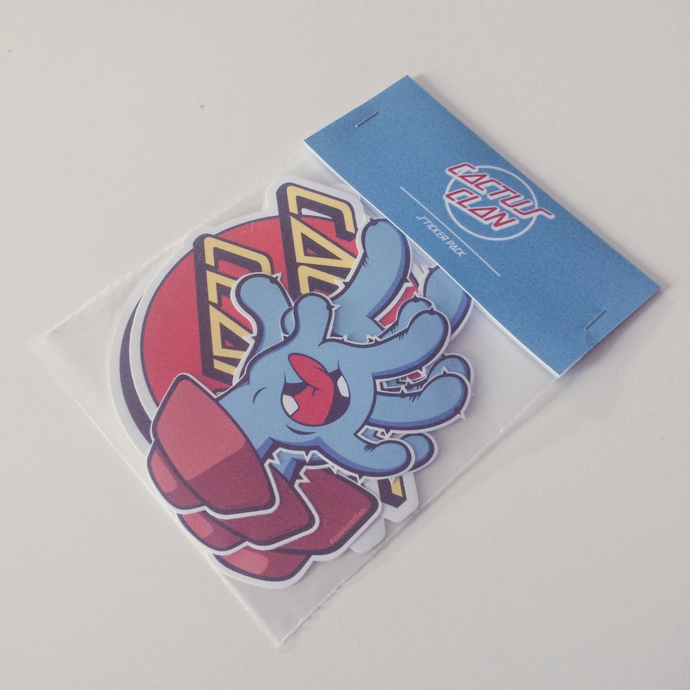 Image of Cactus Cruz Sticker Pack