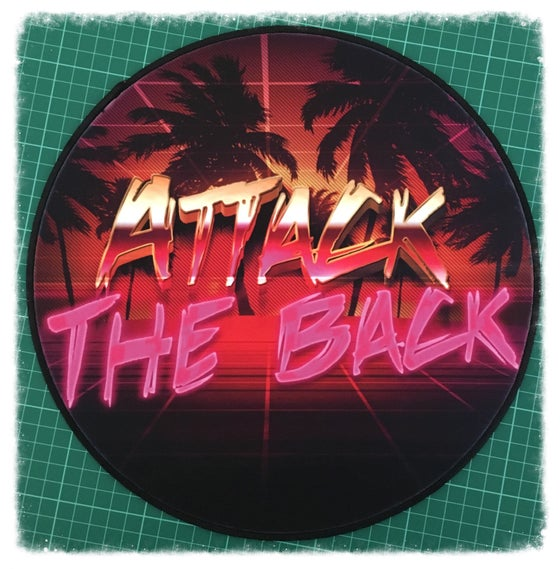 "Image of Attack The Back ""Retro"" Patch"