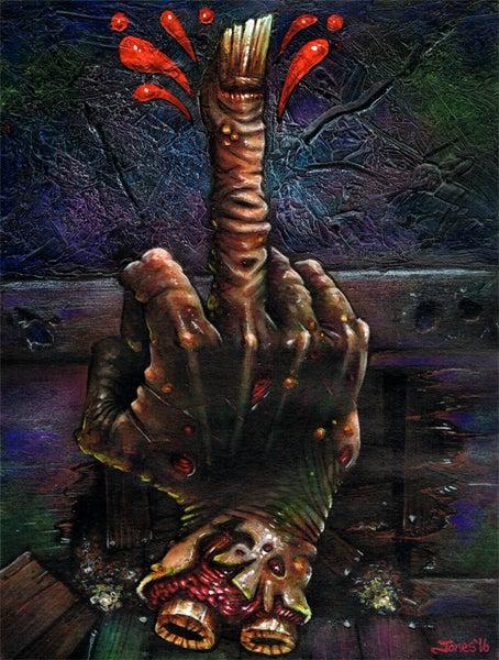 Image of 'Evil Dead II: Finger' Art Prints