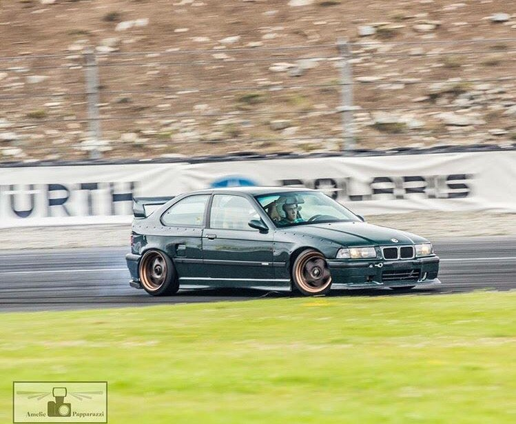 Image of E36 Compact Overfenders - Full Kit - PRE-ORDER DISCOUNT
