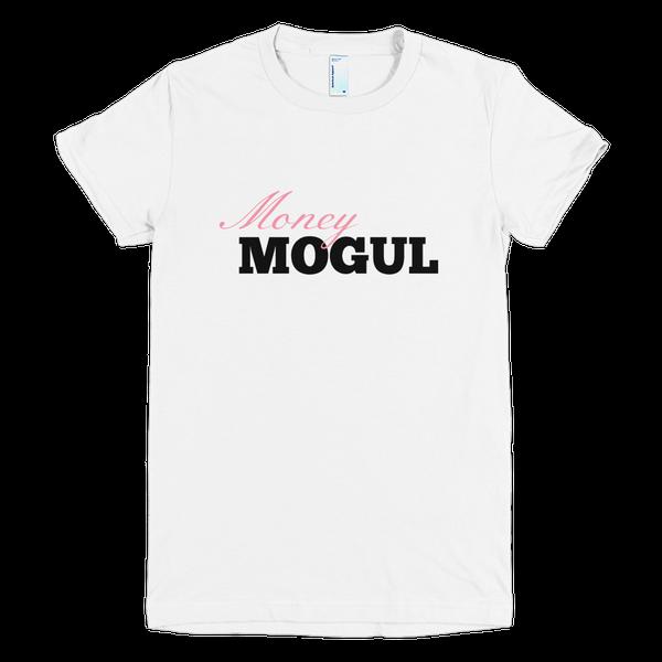 Image of Money Mogul T-shirt White and Pink