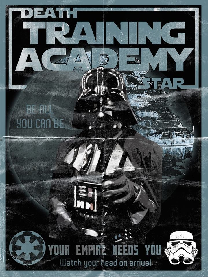 Image of Star Wars Dare to Wear exclusive Darth's Academy