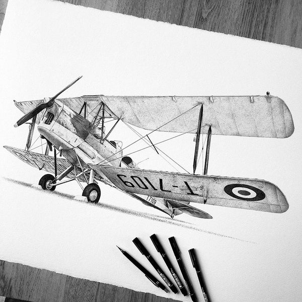 Image of de Havilland Tiger Moth. From £28