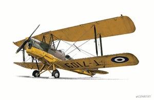 Image of de Havilland Tiger Moth. From £28