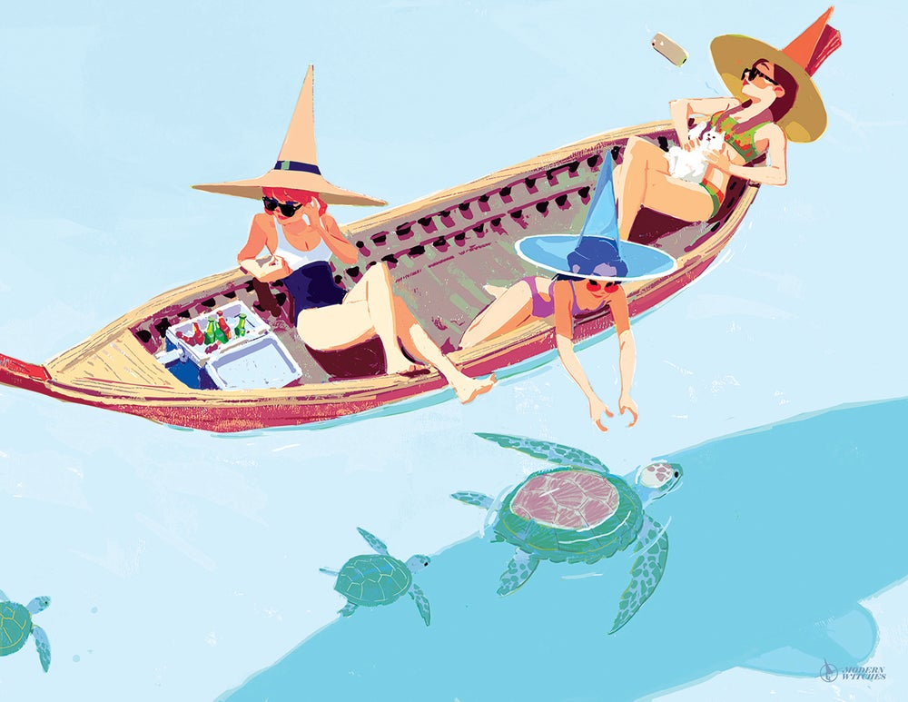 Image of WITCH TROPICAL BOAT