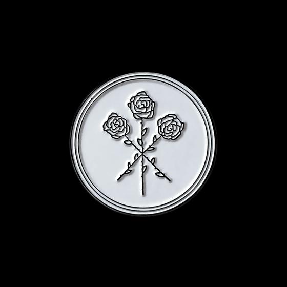 Image of Dear Boy Enamel Pin (White)