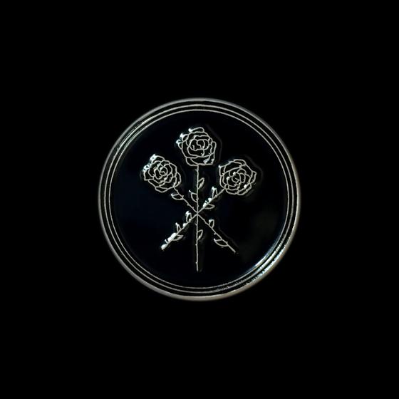 Image of Dear Boy Enamel Pin (Black)