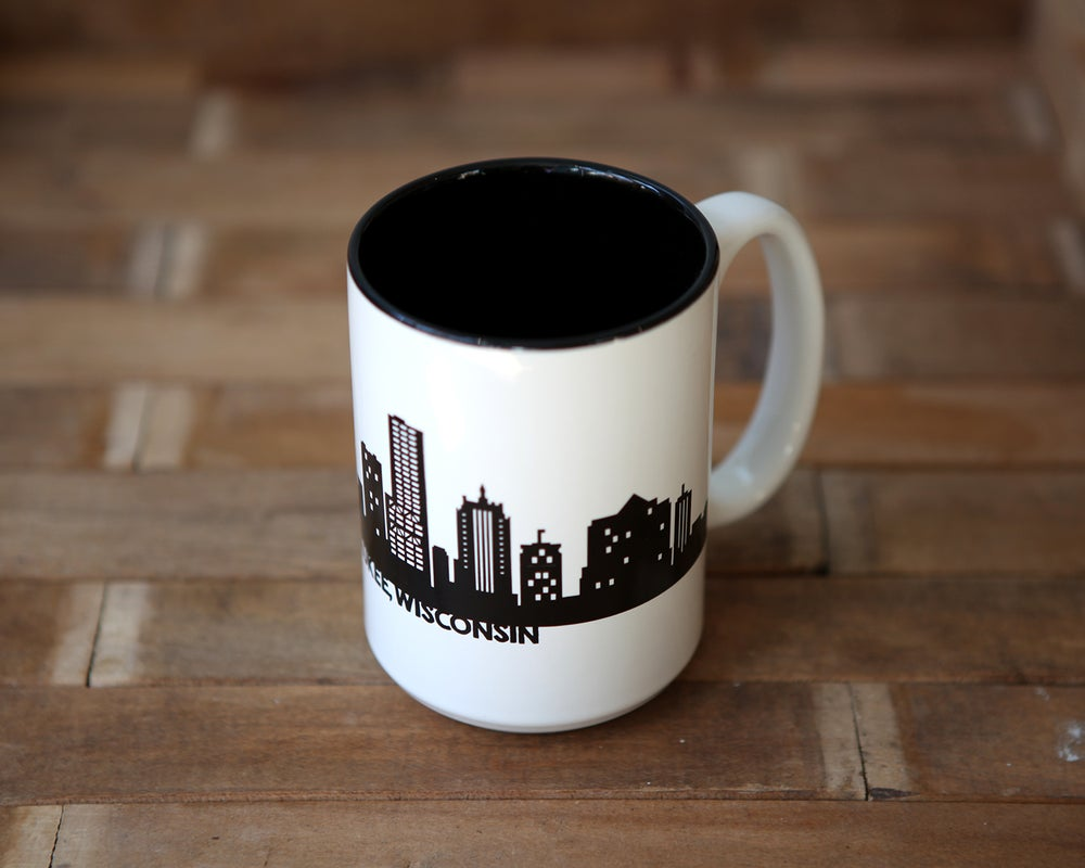Image of Coffee Mug with Milwaukee Skyline
