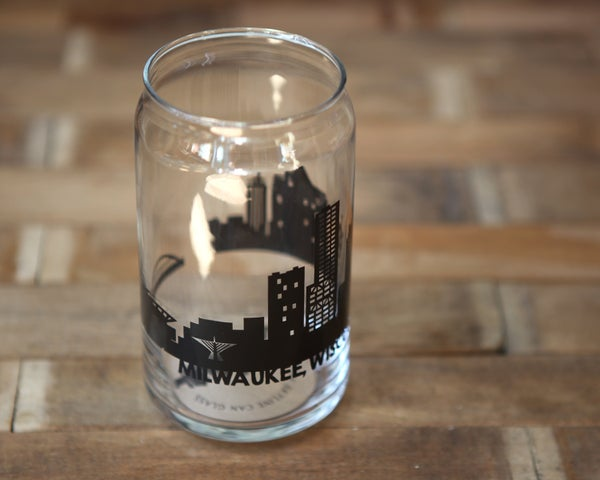 Image of MKE Skyline Can Glass