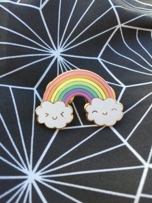 Image of Happy Rainbow Enamel Pin