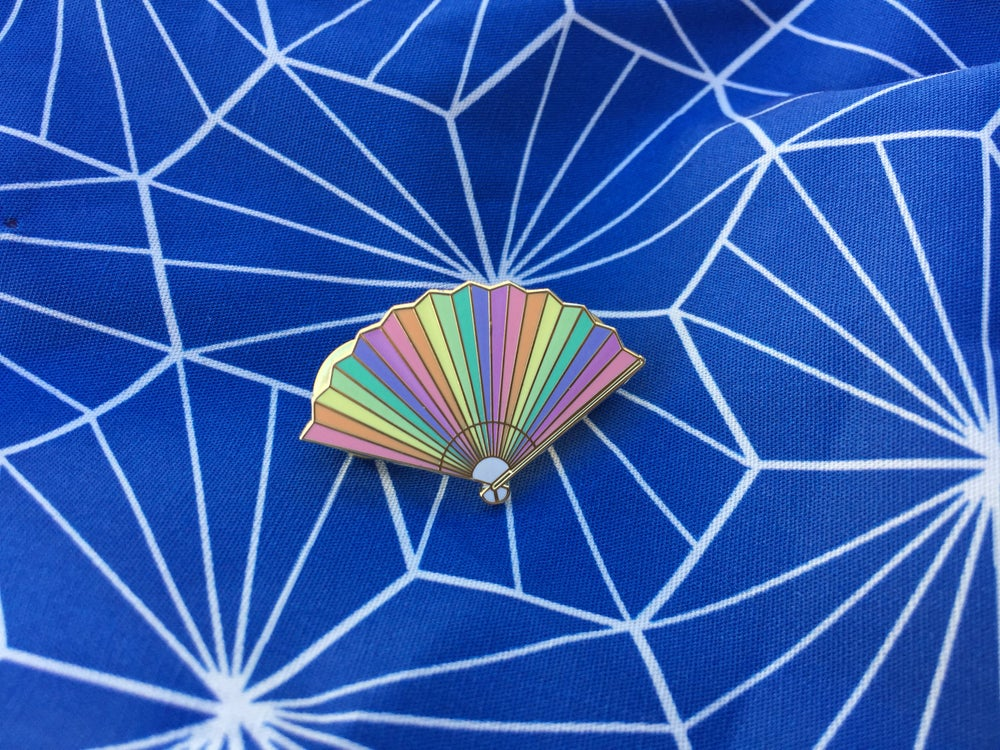 Image of Fan Enamel Pin