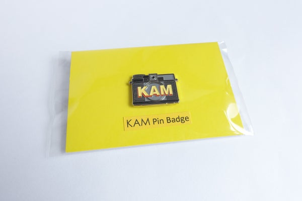 Image of KAM Enamel Pin Badge