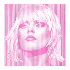 Image of DEBBIE HARRY... Parallel Lines - PINK -2/3 artist proof