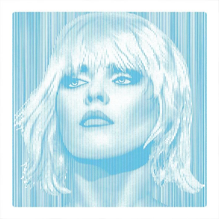 Image of DEBBIE HARRY... Parallel Lines - BLUE - 2/3 artist proof