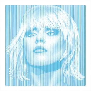 Image of DEBBIE HARRY... Parallel Lines - BLUE - 1/3 artist proof