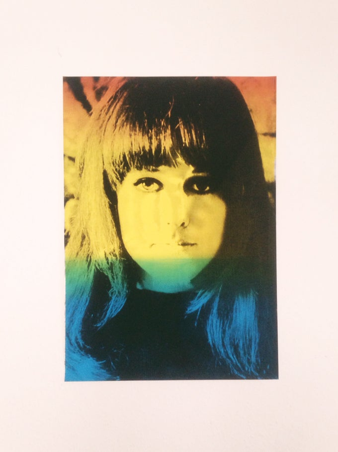 Image of Psych Grace (2 color screenprint - Edition of 6)