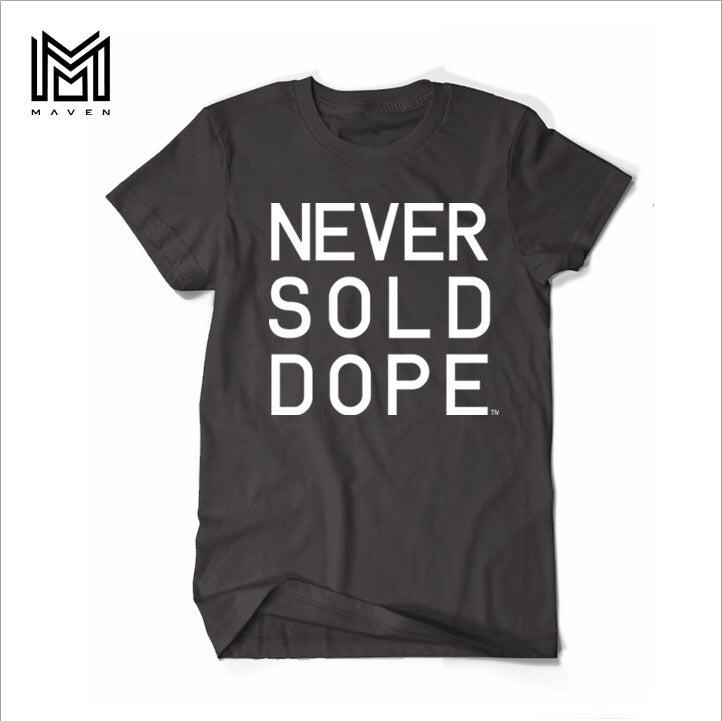 """Image of Maven Brand """"NSD DAY.1 BLACK"""" Mens TShirt"""