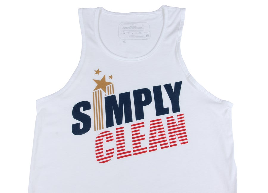 "Image of Men ""Champion"" Tank... White"