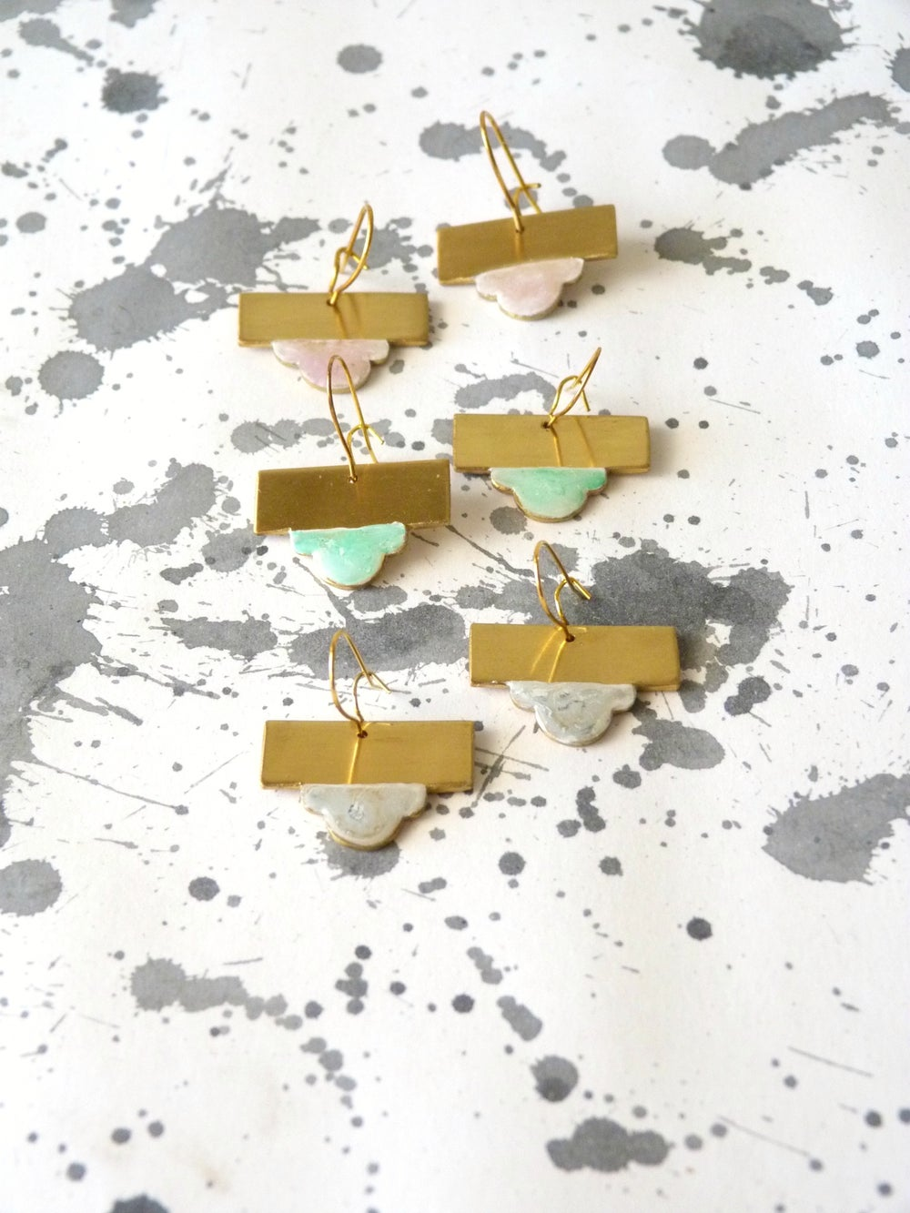 Image of LACA EARRINGS - SMALL