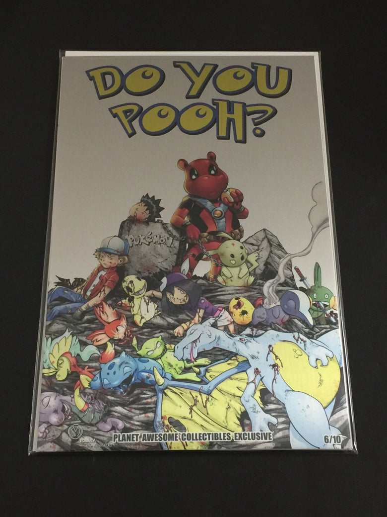 Image of Do You Pooh? #1 Pokemon Go! Homage Metal Edition Variant by Marat Mychaels!