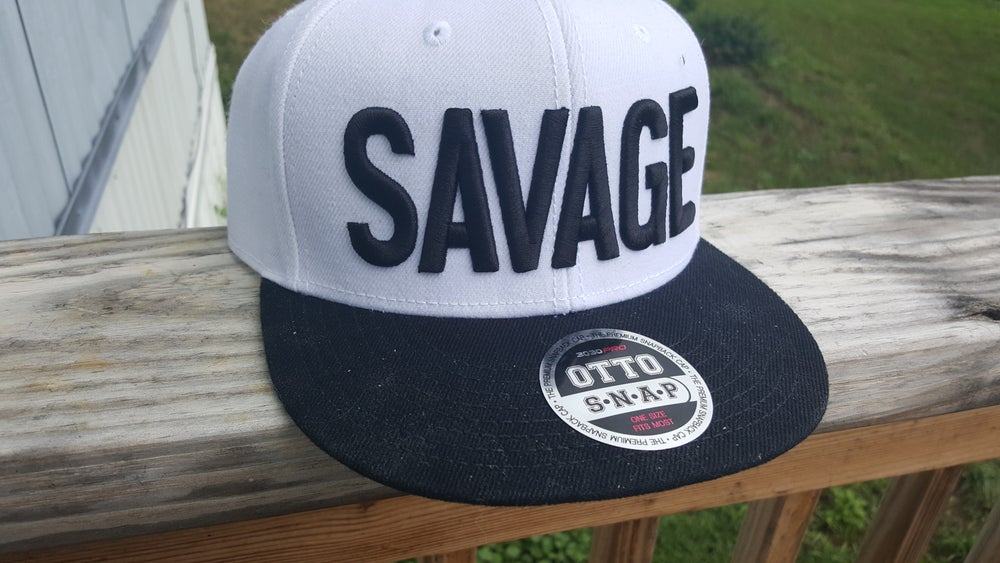 Image of Savage Flat-bill Hat!