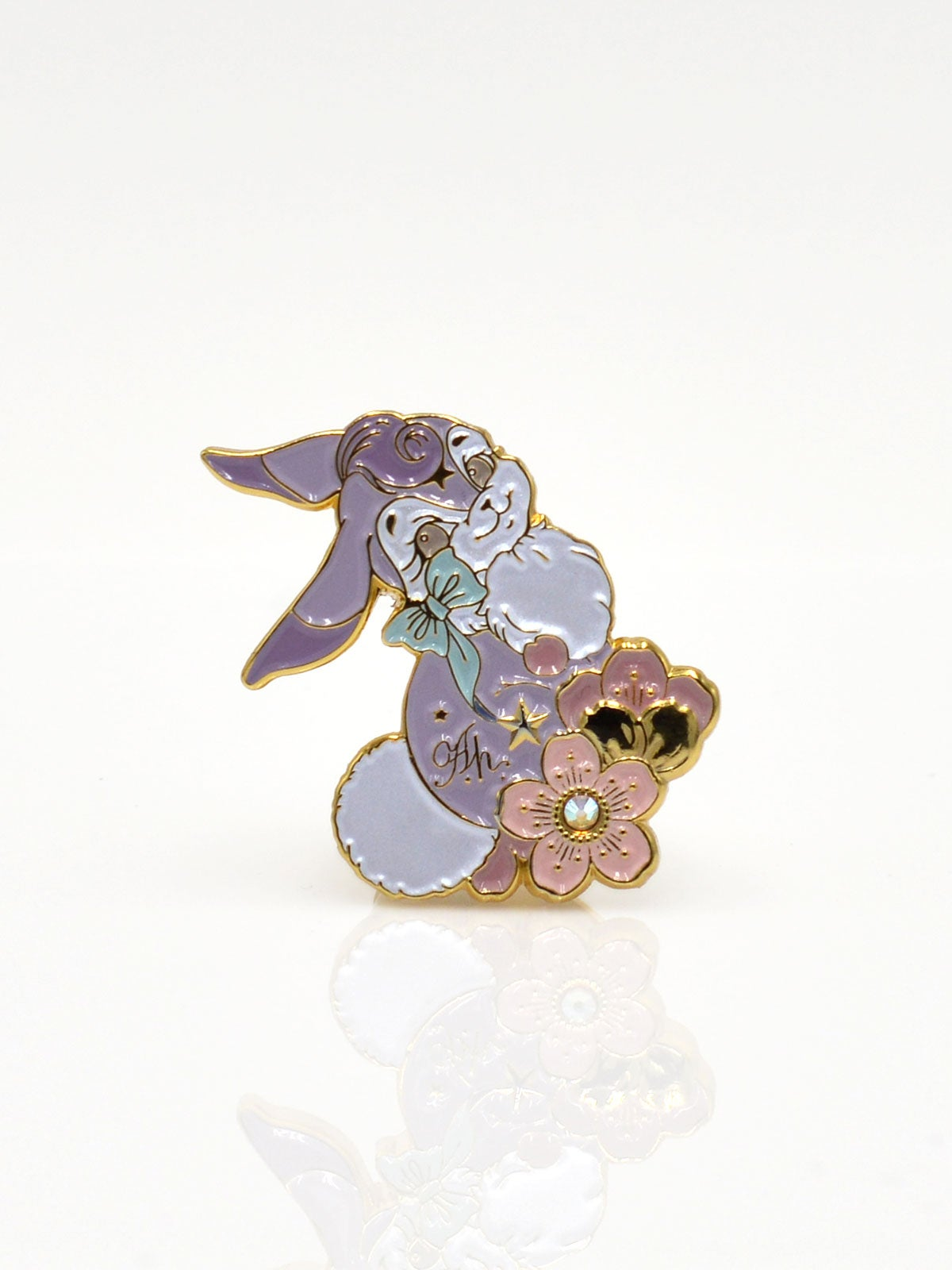 Image of Bunny Ring · Lavender