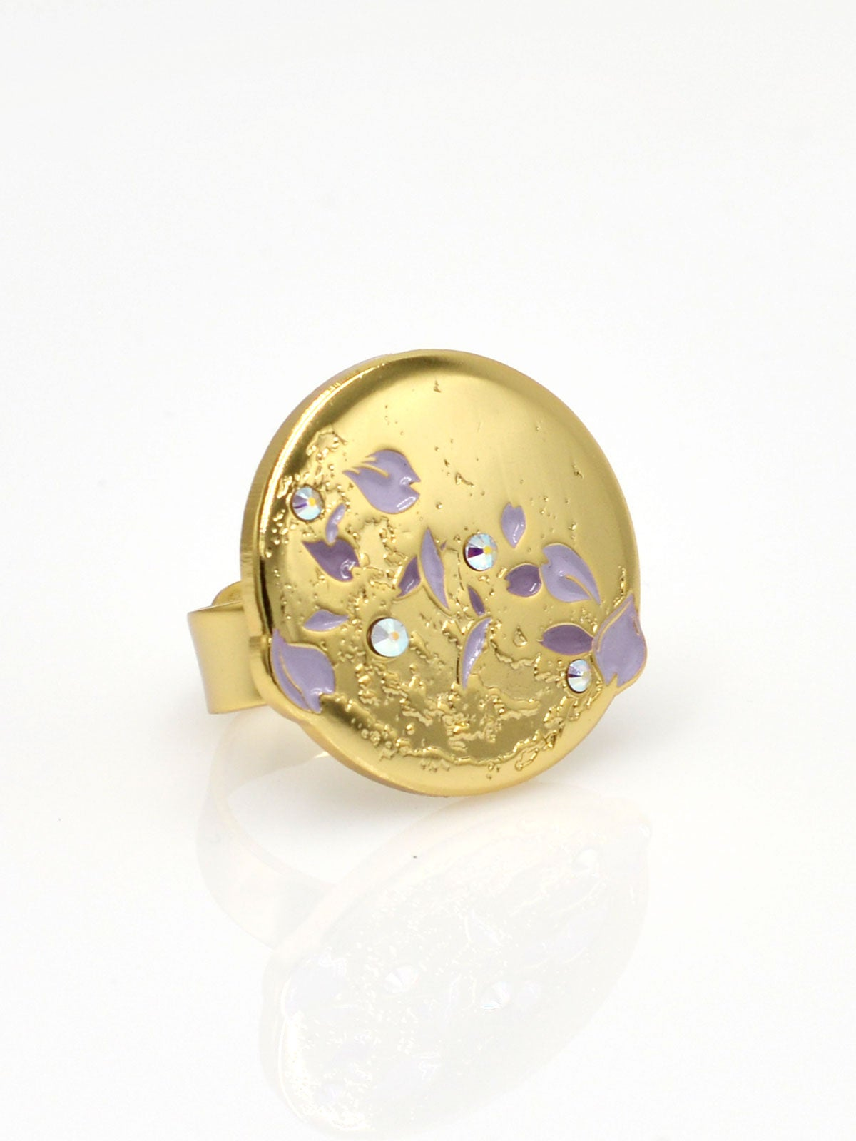 Image of Full Moon Ring · Lavender