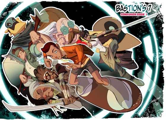 Image of B7 Companion Book 1 (J Scott Campbell/Sean Galloway variant cover)