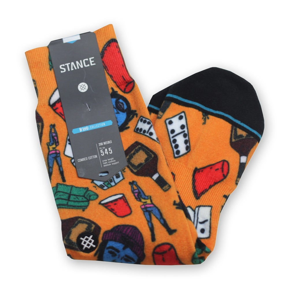 "Image of ""Thurz x Party In My Living Room"" Stance Socks (Limited Edition)"
