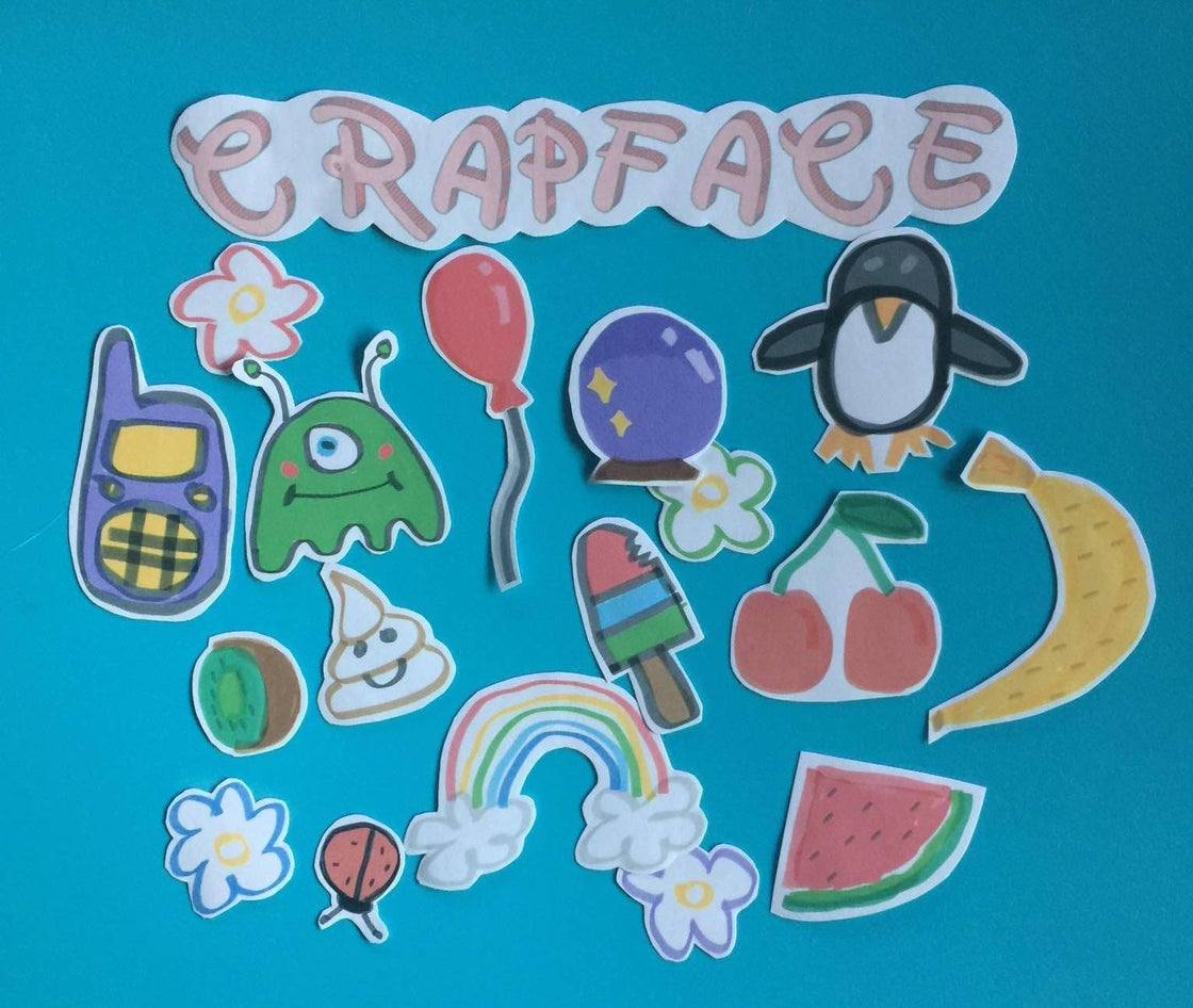 Image of STICKERS :):)
