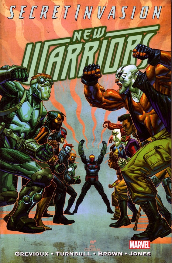 Image of NEW WARRIORS Secret Invasion