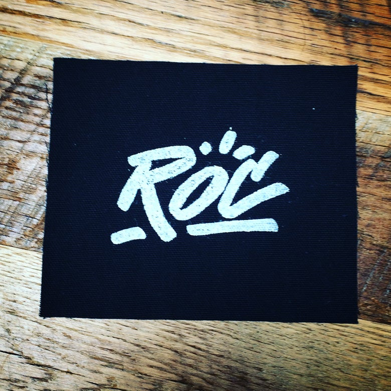 Image of ROC handmade punk patches