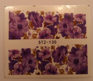 Image of Floral full cover water decals (5 designs)