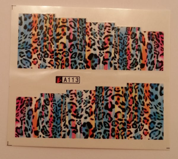Image of Pretty pattern full cover water decals (4 designs)