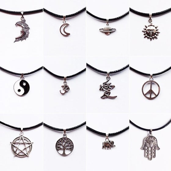 Image of Cord Chokers/Necklaces