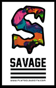 Image of Savage Colorful foral Shirt.