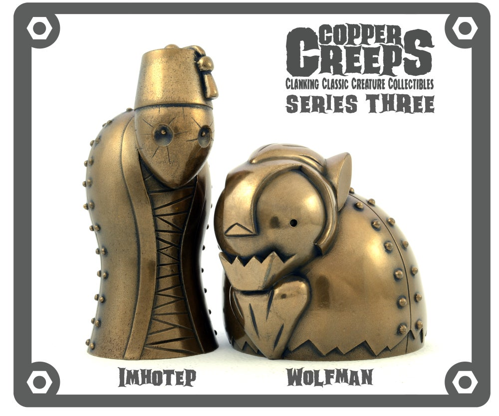 """Image of Copper Creeps Series 3 """"Metal"""" Open Edition *FREE SHIPPING*"""