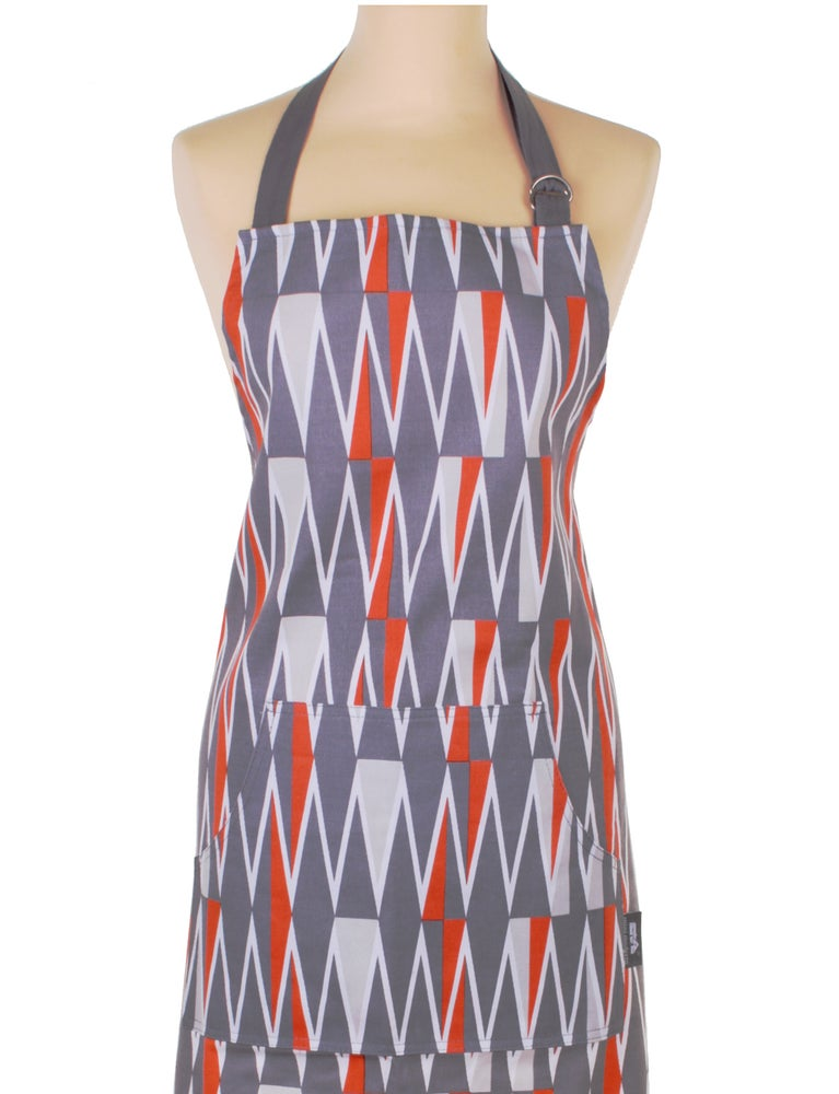 Image of Jacquet Cotton Apron with pocket