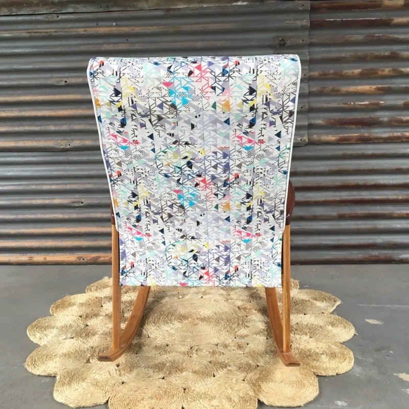 Image of ELSIE Mid-Century Rocking Chair