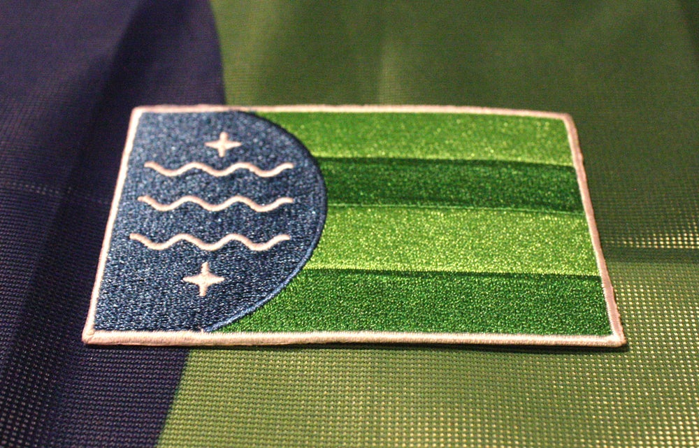 Image of Bellingham Flag Patch