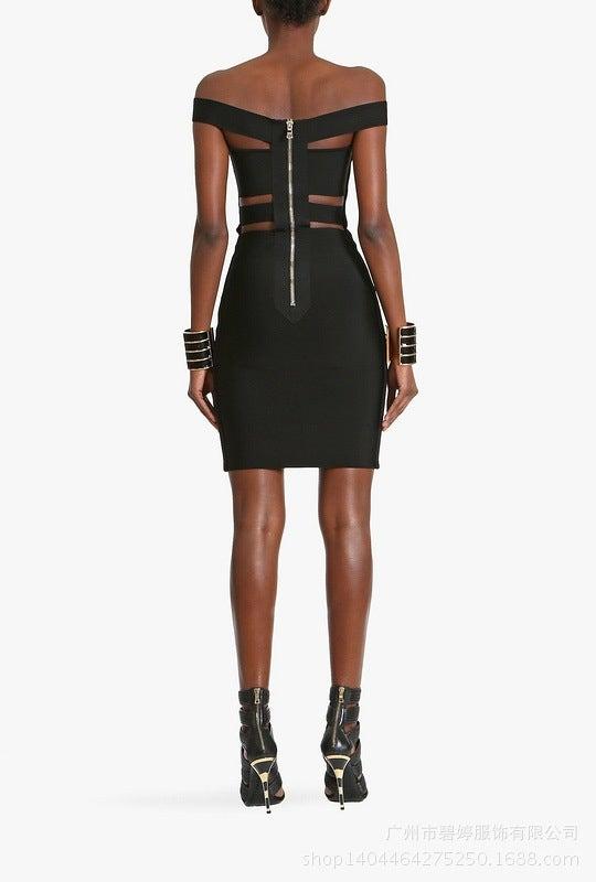 Image of HOT FASHION OFF SHOULDER ELEGANT SEXY DRESS LOWEST PRICE