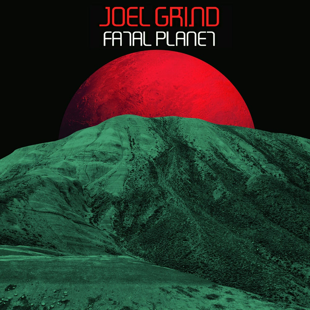 "Image of Joel Grind: Fatal Planet 7"" Limited : Red w/ Black Splatter 103 pressed"